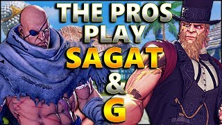 SFV AE - The Pros Play Sagat & G | Bonchan Nemo & Friends  - SF5