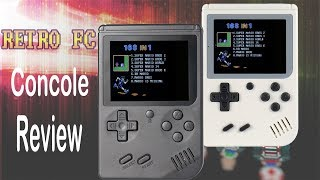 RETRO FC Unboxing Review - NES/Famicom Mini Handheld - FUNNYPLAYING