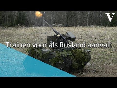 Trainen voor als Rusland aanvalt - de Volkskrant