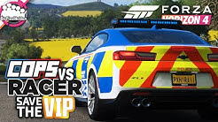 FORZA HORIZON 4 - COPS vs RACER SAVE THE VIP : Komplette Verwirrung 😵 - Forza Horizon 4 MULTIPLAYER