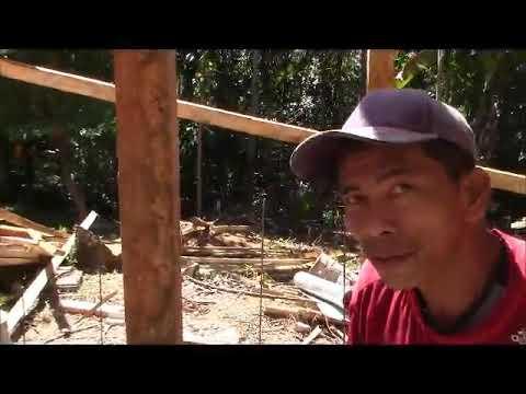 Pastor Tim Works On The Window Frames Huge Step Philippines Expat Foreigner