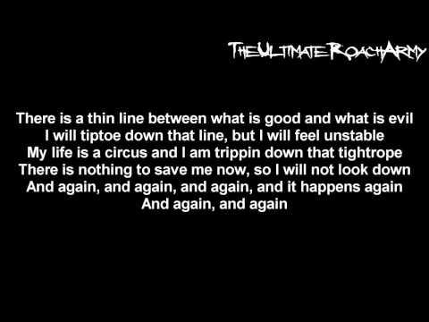 Papa Roach - Tightrope [EP Version] {Lyrics on screen} HD