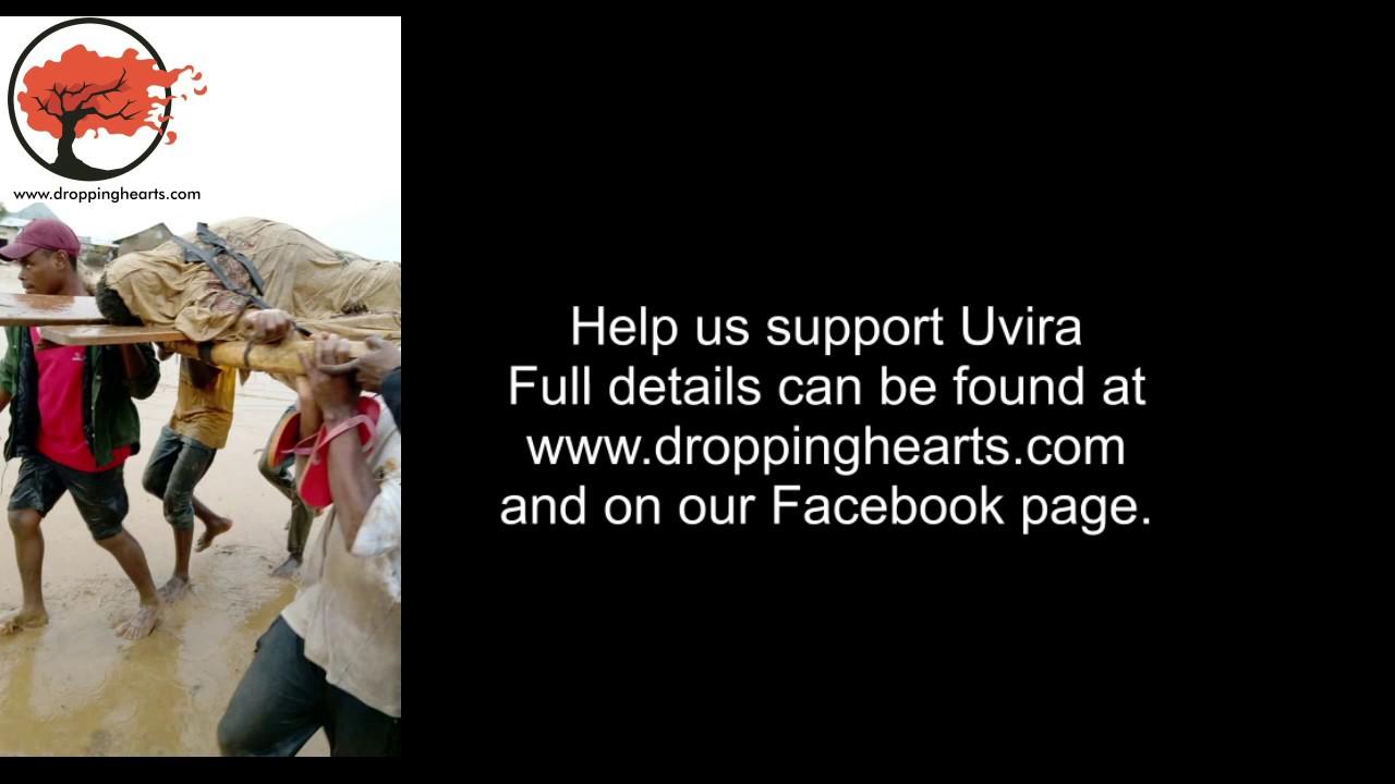 Overstromingen in Uvira - Eerste live beelden