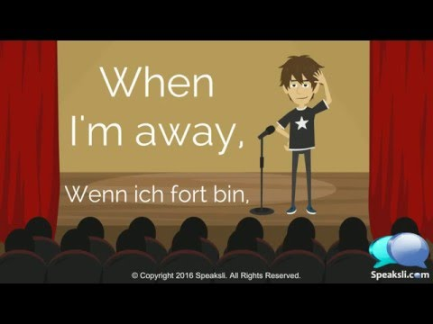German Karaoke 2 | Photograph | Learn German | Speaksli