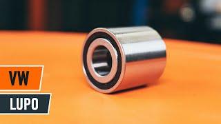 Udskiftning af Hjullejesæt VW LUPO: værkstedshåndbog