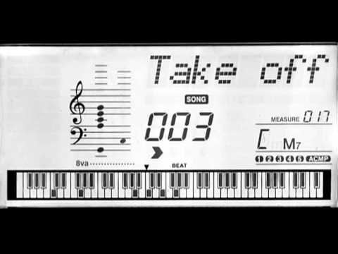 Yamaha Piaggero demo song - Take Off