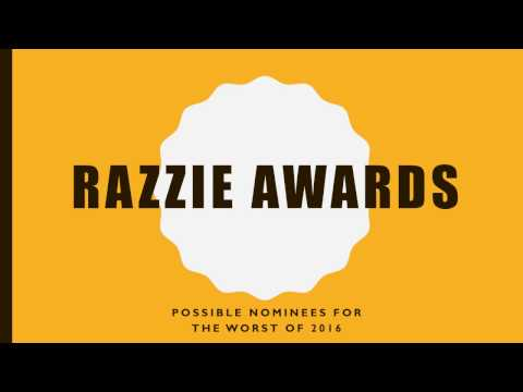 Razzie 2017 Predictions (01-09-2017) Update!!