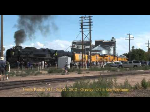 Union Pacific 844 @ Greeley