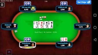 Full Tilt Poker - Mobile Game - Gameplay - Poker App - Android - iPhone