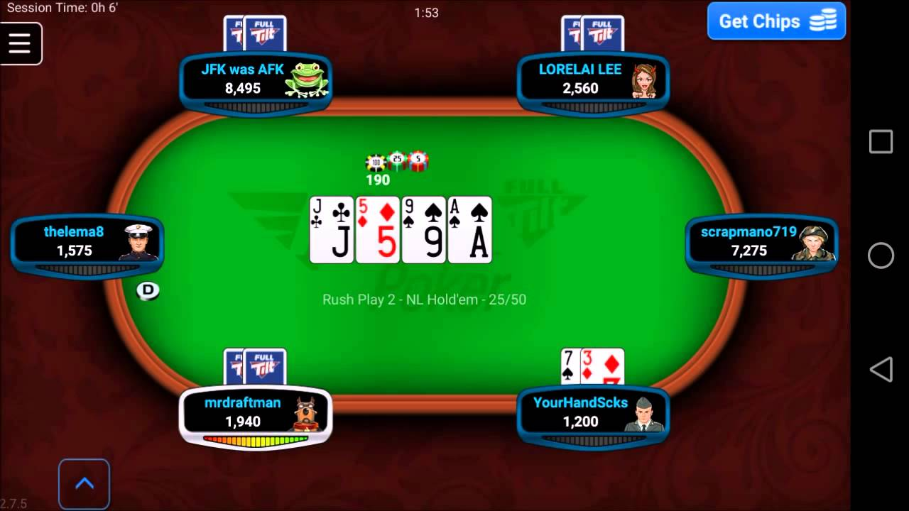 Full Tilt Poker Mobile Iphone Download