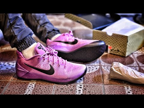"""1d5d320c7dd0 Nike Outlet Find  Nike Kobe A.D. """"Purple Stardust"""" Unboxing and On-Foot  Review"""