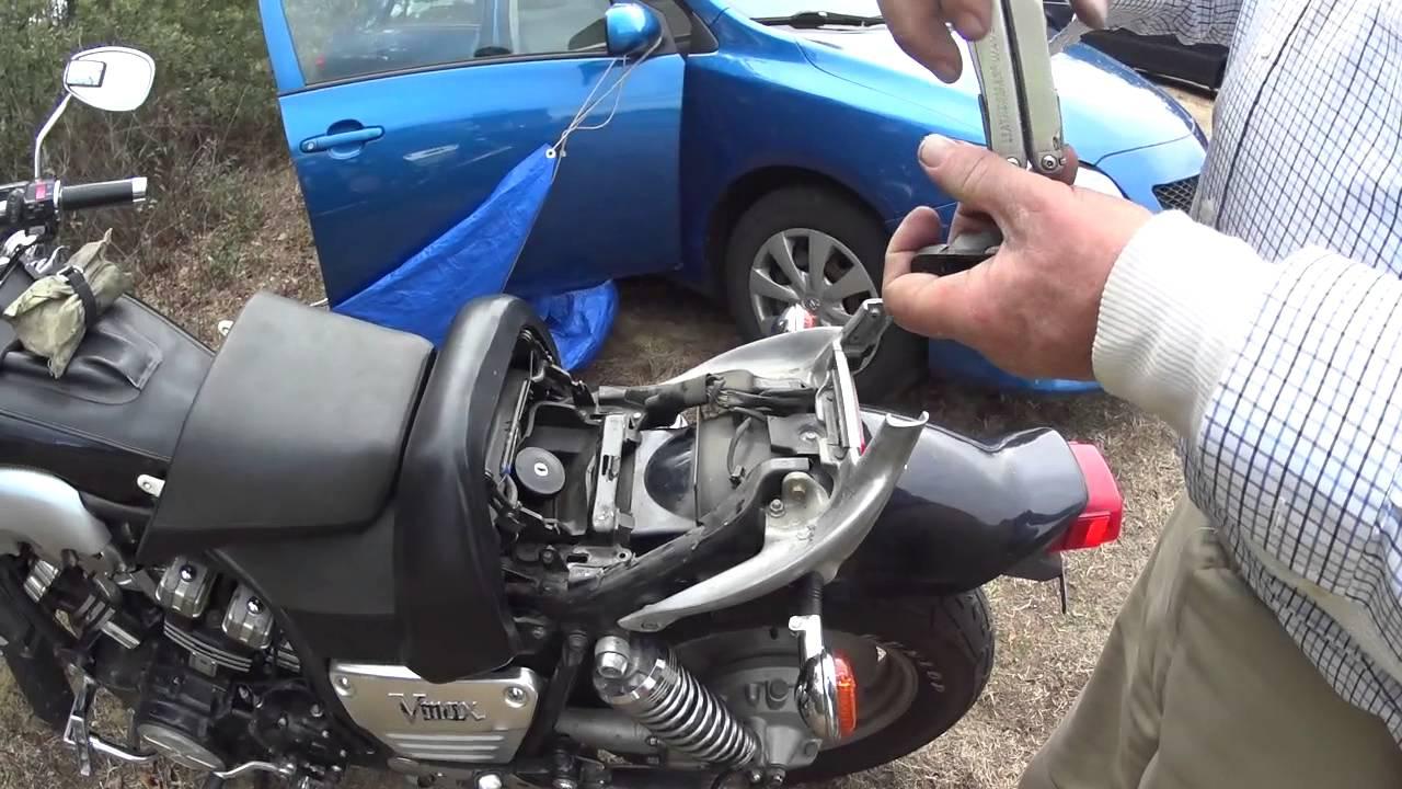 Yamaha Gas Tank Removal