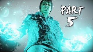 Infamous Second Son Gameplay Walkthrough Part 5 - Chasing Light (PS4)