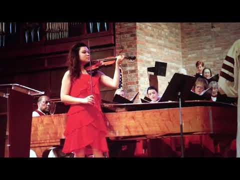 Grace by M. Hayes, arr. John Cornelius. Xia Xia Zhang, Violin