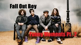 """Fall Out Boy """"VERY BEST"""" Funny Moments. 100% Guarantee Of Laughter 2"""
