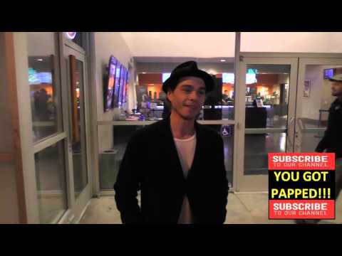 Matthew Lawrence talks about future of Sea World as he leaves Laemmle NoHo 7 Theatre in North Hollyw