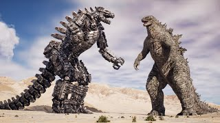 Awesome Godzilla Fight Scenes by Dazzling Divine