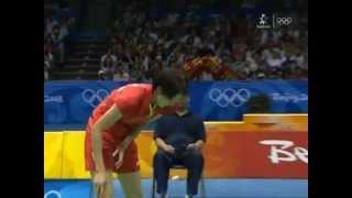 Beijing 2008 Olympics - WS Final - Xie Xingfang vs Zhang Ning