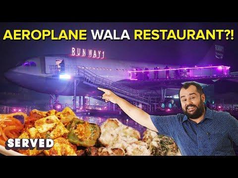 Achari Chicken Tikka at Runway 1 ft. Hasley India | World's Largest Airplane Restaurant | Served #27