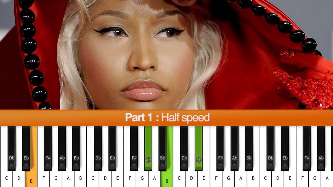 How To Play Moment 4 Life Nicki Minaj Piano Tutorial