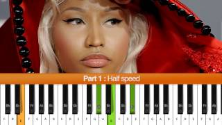 "How To Play ""Moment 4 Life"" (Nicki Minaj) Piano Tutorial"