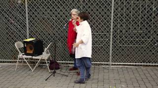 Yoshiko Chuma & Shelley Hirsch - Arts for Art - Un-Columbus Day 2015