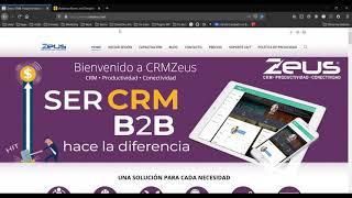 Sincornización CRM Zeus a Mail…