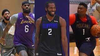 NBA Players Workouts Inside The NBA Bubble In Orlando!