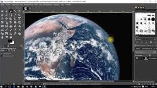 Как удалить/заменить фон фотографии/изображения в редакторе GIMP