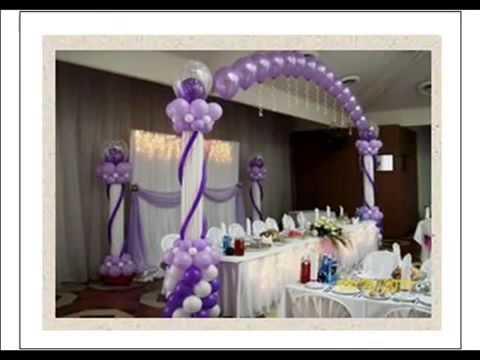 Décoration de salles et de buffets de réception