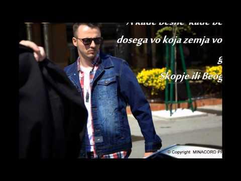 Zeljko & Daniel- Skoplje-Beograd (Tekst-Lyrics)
