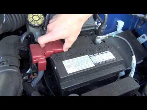 Maita Nissan Service Tip Battery Corrosion