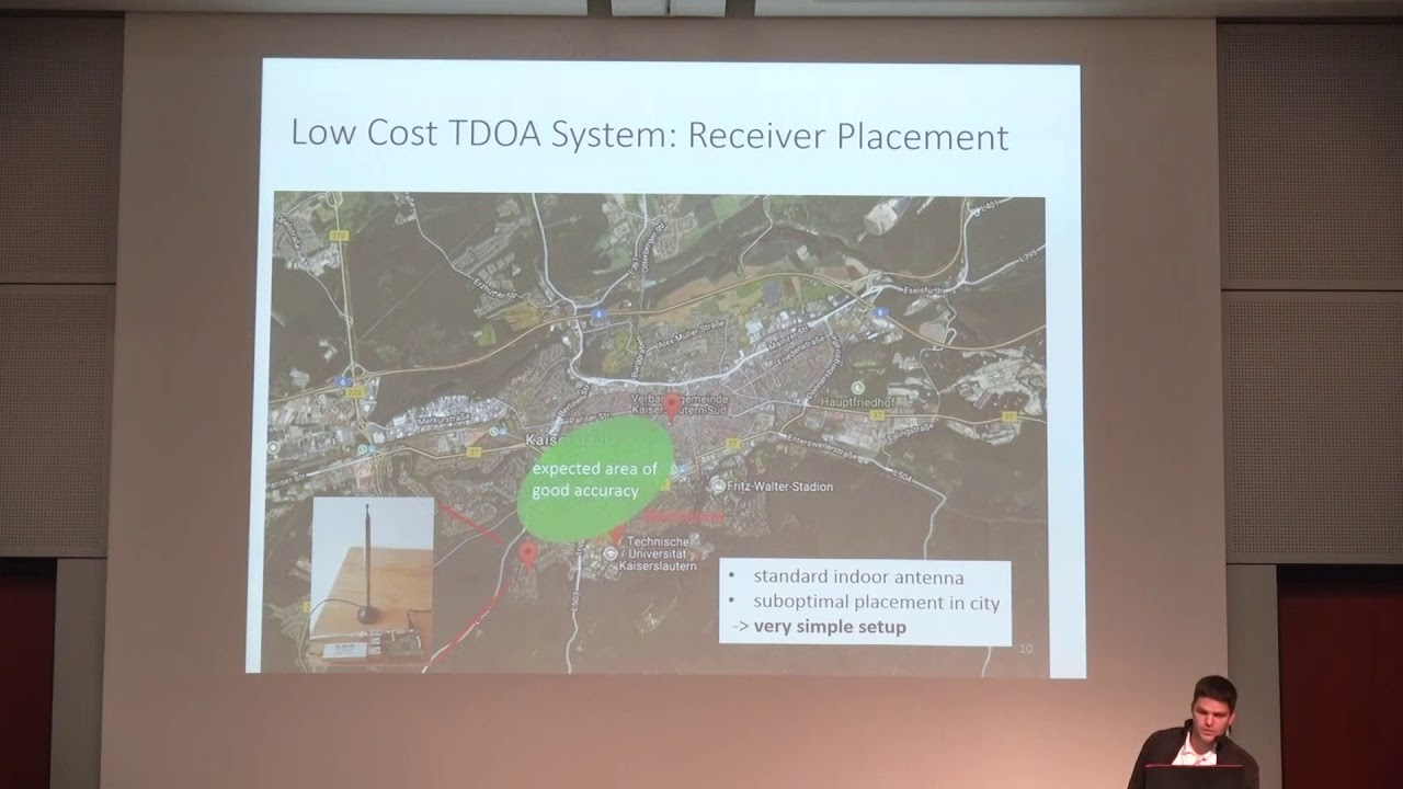 TDOA Transmitter Localization with RTL-SDRs -Panoradio SDR