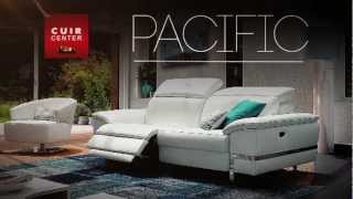 Cuir Center Canapé relaxation PACIFIC.flv