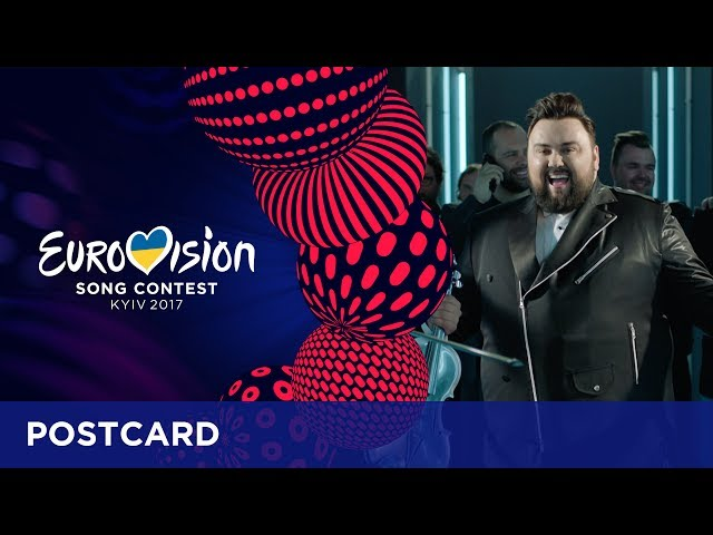 Postcard of Jacques Houdek from Croatia - Eurovision Song Contest 2017
