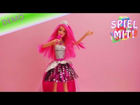 Barbie Rockstar Camp deutsch - Barbie ist gleichzeitig Rockstar und Prinzessin!