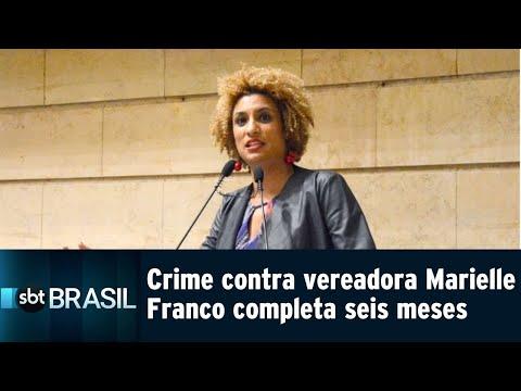 Crime contra a vereadora Marielle Franco completa seis meses | SBT Brasil (14/09/18)