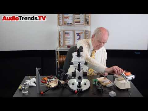 AJ van den Hul builds a cartridge (Part 2)