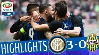 Inter - Hellas Verona 3-0 - Highlights - Giornata 30 - Serie A TIM 2017/18