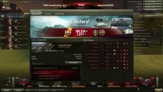 World of Tank - T26E4 Super Pershing DOUBLE TOP GUN - Patch 9.1
