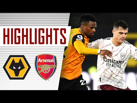 HIGHLIGHTS   Wolves vs Arsenal (2-1)   Premier League
