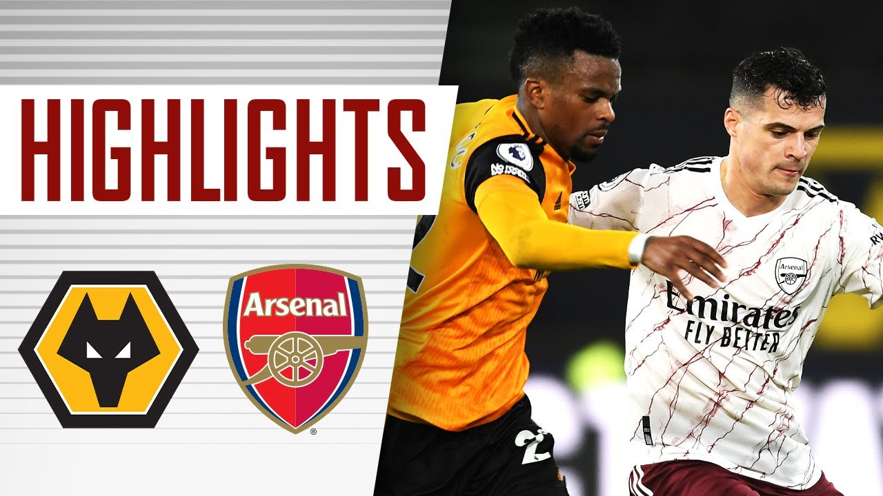 HIGHLIGHTS | Wolves vs Arsenal (2-1) | Premier League