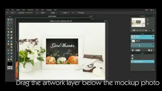 How to use Frame Mockup Photography for artwork presentation and for your Etsy shop pictures