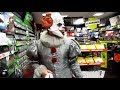 """watch he video of IN PUBLIC AS PENNYWISE THE """"IT"""" CLOWN!"""