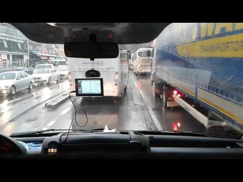 112 Acil Ambulans Kocaeli Gölcük'te Trafikte Kaldı