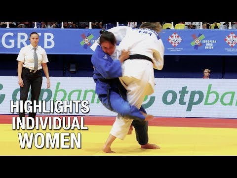Veteran European Judo Championships 2017: Highlights Women