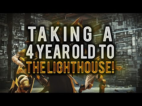 Destiny: Taking A 4 Year Old To The Lighthouse!