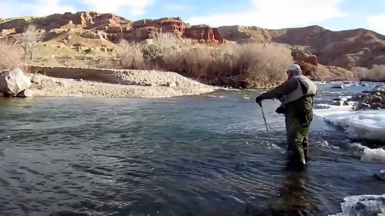 winter wyoming fly fishing report video dubois wy jan 15 | marlows, Fly Fishing Bait