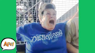Amusement Parks AREN'T for EVERYONE! 😂 | Funny Pranks and Fails | AFV 2021