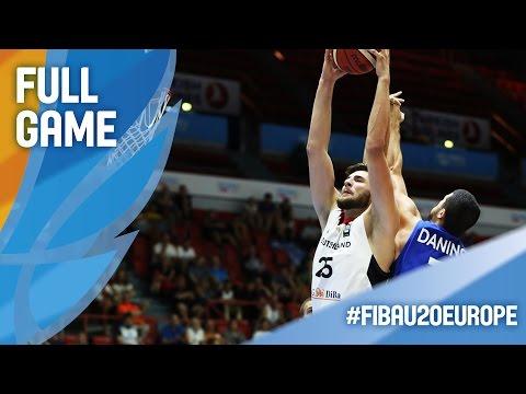 Germany v Israel - Full Game - R16 - FIBA U20 European Championship 2016